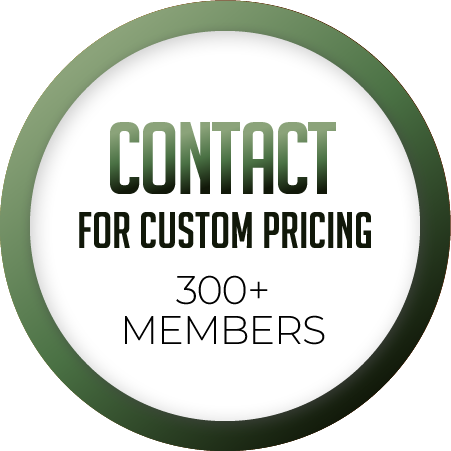300 + contact for custom pricing